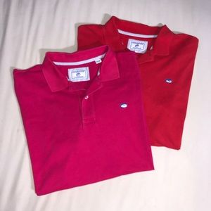 Two Southern Tide Polos